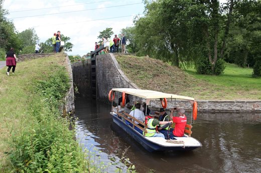 Canal lock reopened after 100 years | Torfaen County ...