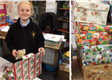 150 shoe boxes collected at West Monmouth School