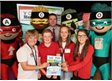Garnteg pupils wow the judges at national business competition