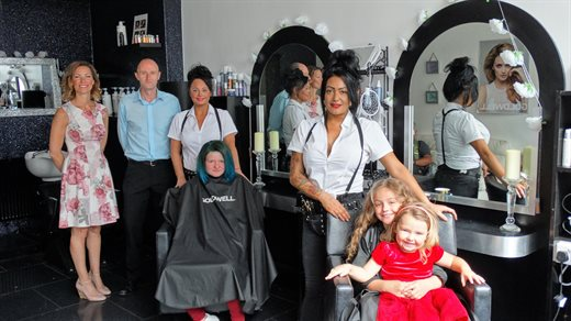 Business opening hairdressing