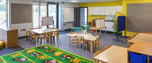 Blenheim Road Community Primary School - One of the Foundation Phase classrooms